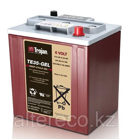 Тяговый аккумулятор Trojan TE35-GEL (6В, 210Ач), фото 2
