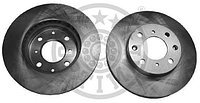 Тормозные диски Honda Civic (передние, 91-95 , 1.5л, 1.6л, Optimal), фото 1