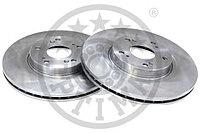 Тормозные диски  Honda Accord (передние,08-…, 2.0л,2.2л.,2.4л, Optimal