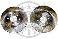 Тормозные диски Honda  Jazz ,  LOGO (02-08, передние, Optimal), фото 1