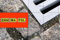 Решетка из ПВХ, серая, 500*126*20 мм, ZMM MaXpol (Польша), фото 1