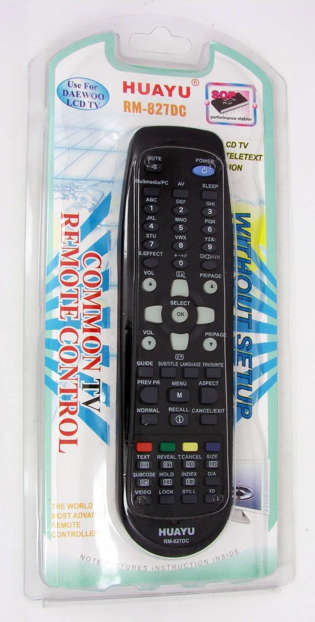 Пульт ДУ Daewoo RM-827DC универсальный