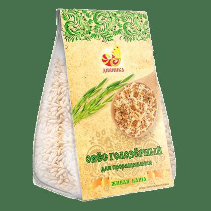 Овёс Голозерный для проращивания (зерно), 200 гр