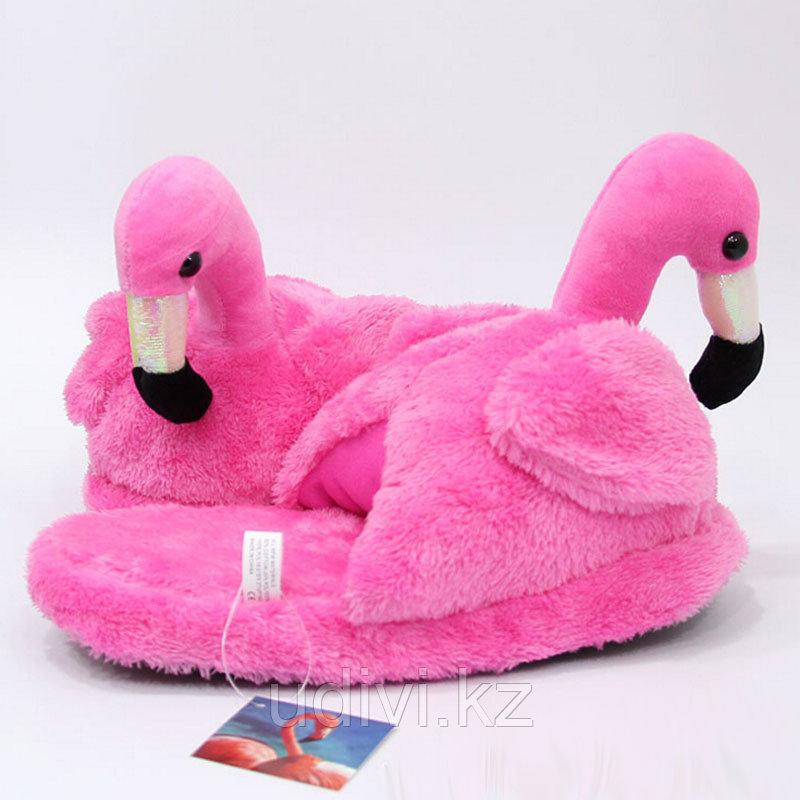 Тапочки Розовый Фламинго