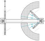 ПОДЪЕМНИК 2х стоечный электрогидравлический г/п 4,5т NORDBERG N4123A-4,5T, фото 2