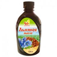Льняное масло холодного отжима ДИВИНКА, 0,4л