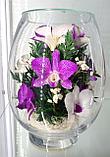 Живые цветы в стекле VSO, фото 2