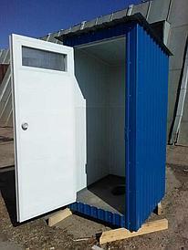 Туалет дачный из контейнера по Казахстану
