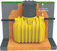 Ёмкости горизонтальные подземные от 1000л до 5000л.