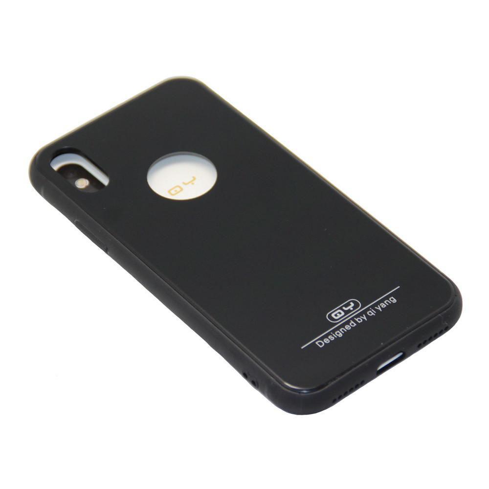 Чехол QY Yang Силиконовые Края Apple iPhone X, 10