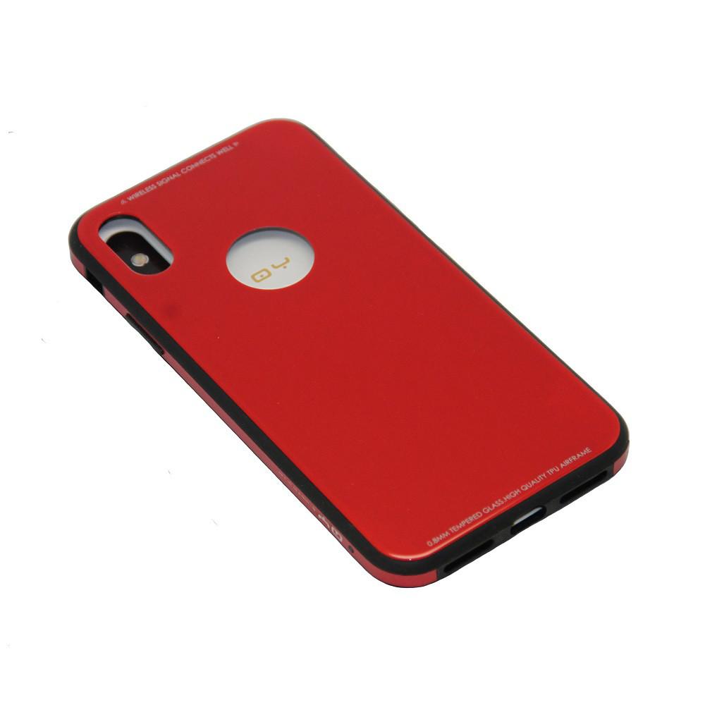 Чехол QY Yang Стеклянные Края Apple iPhone X, 10