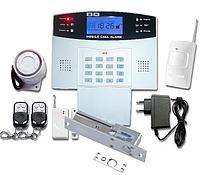 GSM сигнализация с электронным замком на входную дверь