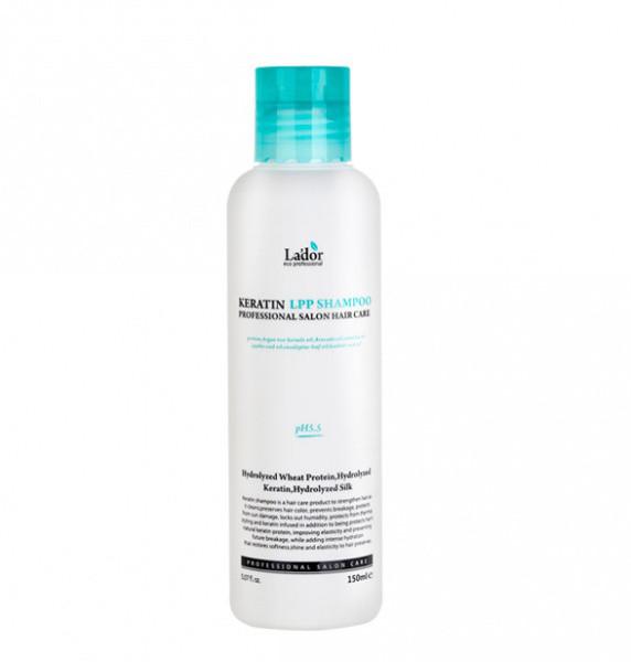 Lador Keratin LPP Shampoo Профессиональный шампунь с кератином 150 мл.