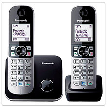 Радиотелефон Panasonic KX-TG6812CAB Black-silver