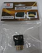 Штекер HDMI - Гнездо HDMI угловой арр-365