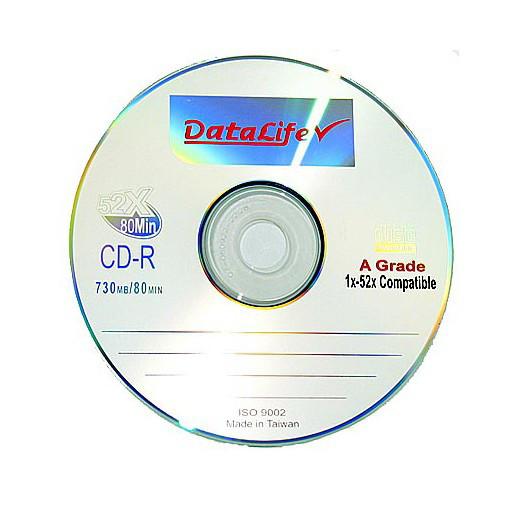 Диск CD-R Datalife 700 MB   50 шт упаковка