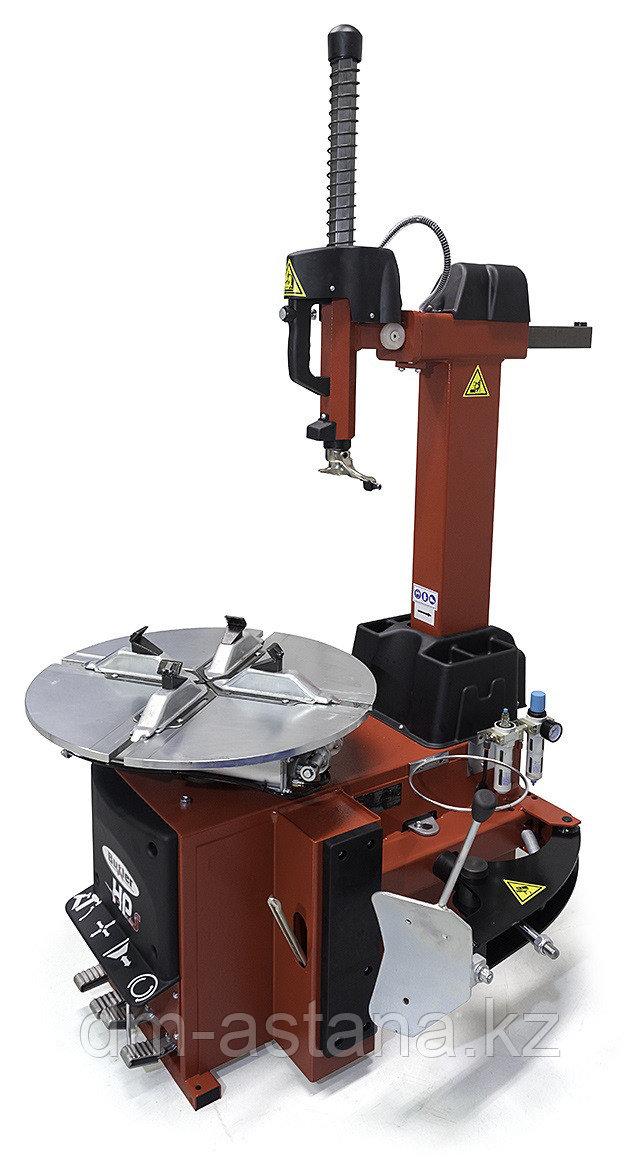Автоматический шиномонтажный станок. Традиционный, круглый монтажный стол. Две скорости. Взрывная подкачка. По
