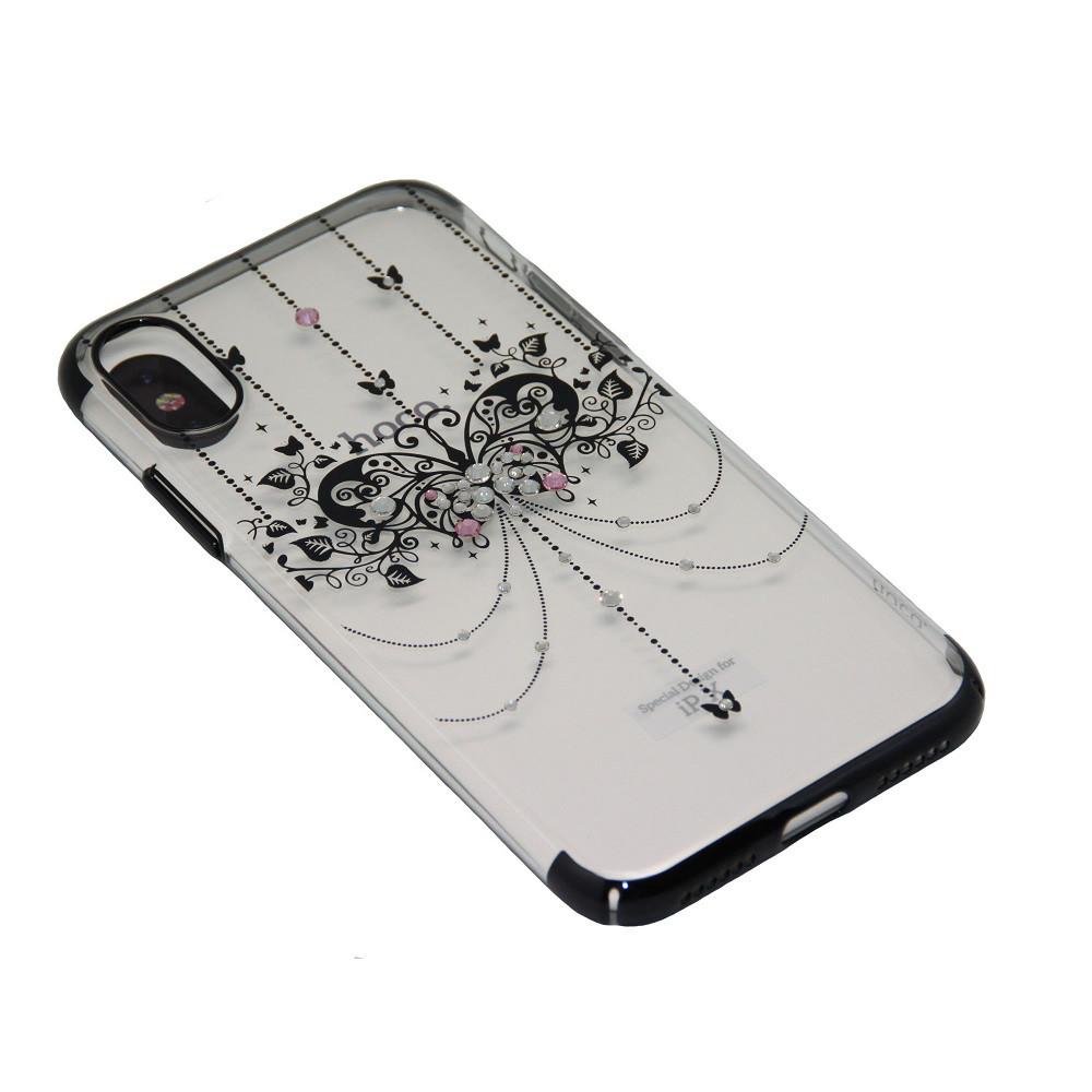 Чехол Hoco Стразы Butterfly iPhone X, 10