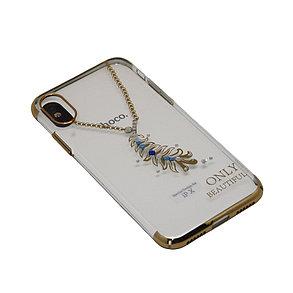 Чехол Hoco Стразы Feather iPhone X, 10, фото 2