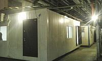 Служебное помещение из металлоконструкции