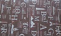 Аква бумага, надписи