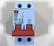 Автоматический выключатель BKN 2P C25 (6кА)