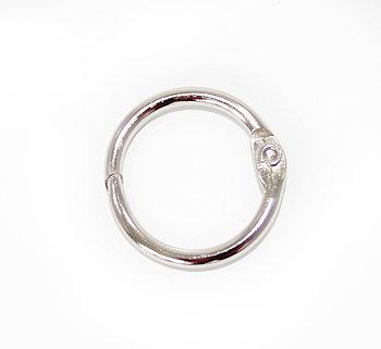 Металлическое кольцо с фиксатором 25мм