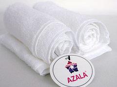 Полотенце белое ГОСТ 50*100, плотность 550 гр.