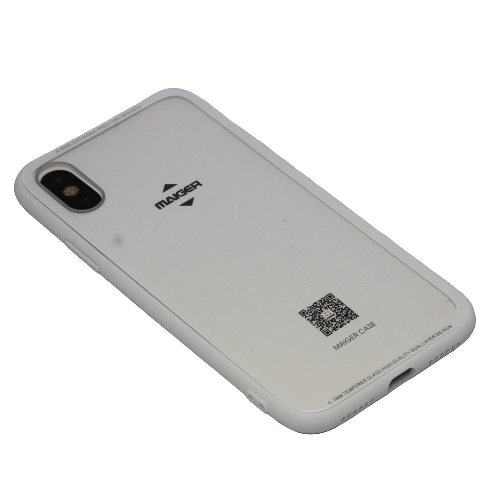 Чехол Maiger Glass Apple iPhone 7, 8