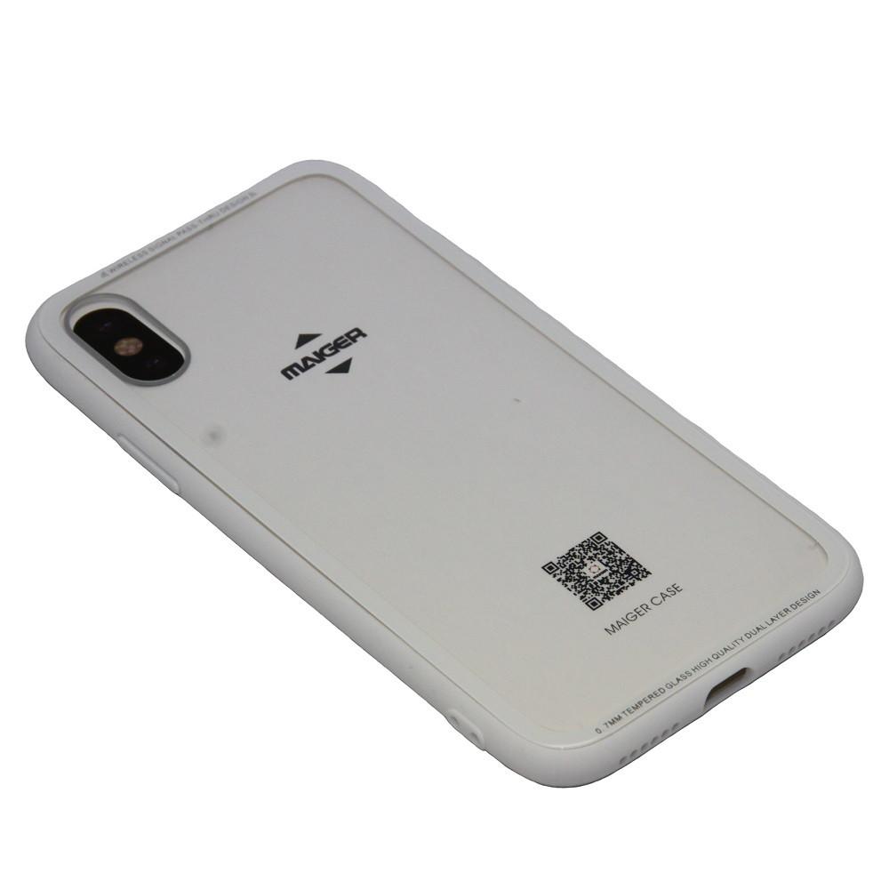 Чехол Maiger Glass Apple iPhone 7 Plus, 8 Plus