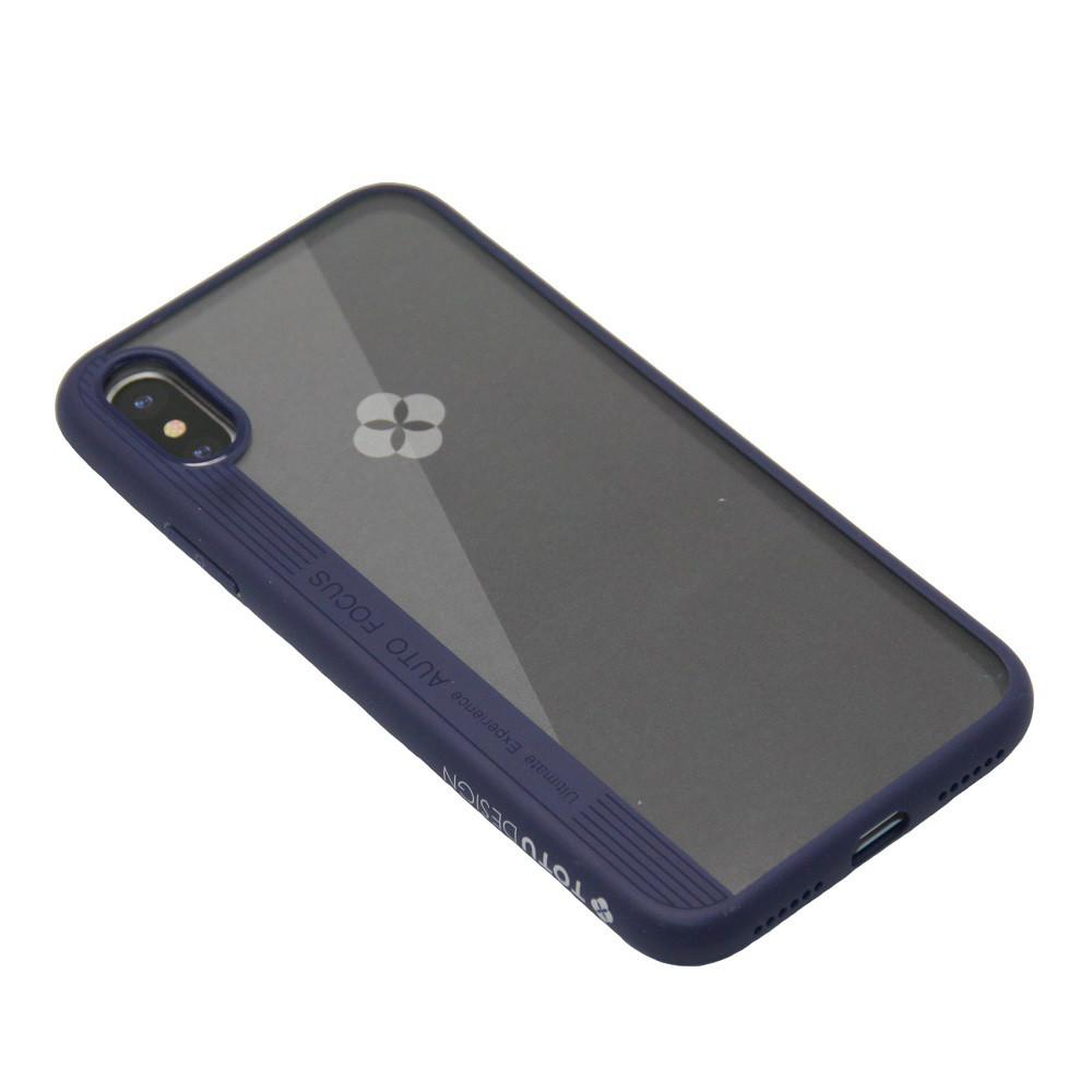 Чехол Totu Design Crystal Color Series Apple iPhone X