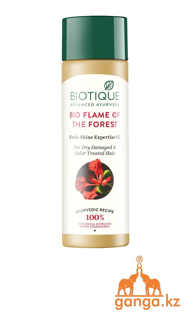 """Масло для волос """"Лесной огонь"""" (Bio Flame of the Forest BIOTIQUE), 120 мл."""