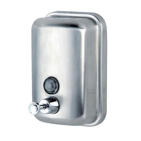 Диспенсер для жидкого мыла 0,5 метал, фото 2