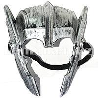 Маска Шлем Тора серебристый