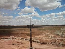 Система  IP-видеонаблюдения на карьере Итауыз (заказчик - Корпорация Казахмыс) 1