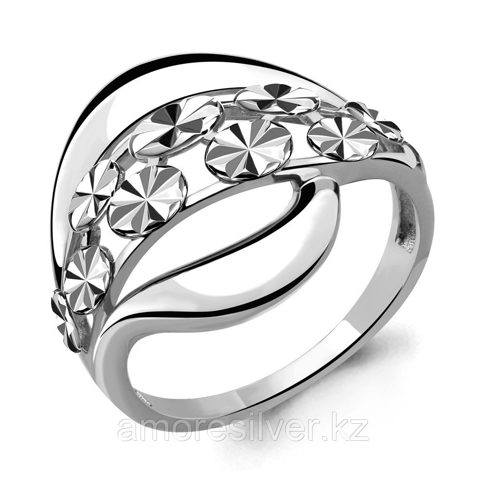 Серебряное кольцо   Аквамарин 54555