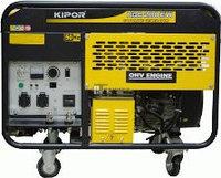 Бензиновый генератор KGE 12E3 KIPOR