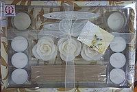 Набор Аромо свечей+ аксессуары.В подарочной коробке. Алматы