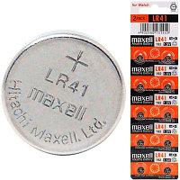 Батарейка Maxell LR41 AG3 1.5V