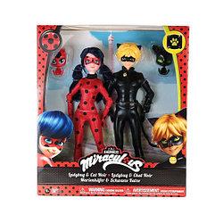 Набор Леди Баг  и Супер кот Куклы 26 см 39810 с питомцами