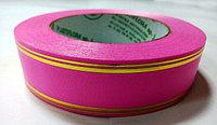 Лента упаковочная, польша, 5 см, розовая