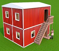 Модульная 2-х и более этажная столовая, кафе и рестораны