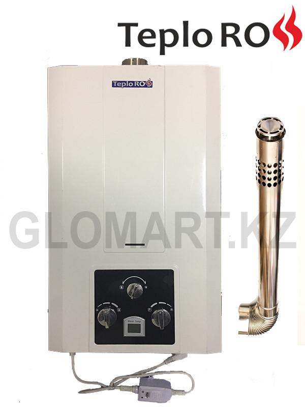 Газовый проточный водонагреватель ТеплоРОСС АПВГ 24Q (12 л/мин)