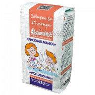 Рисовая манка Гарнец безглютеновая 450 грамм