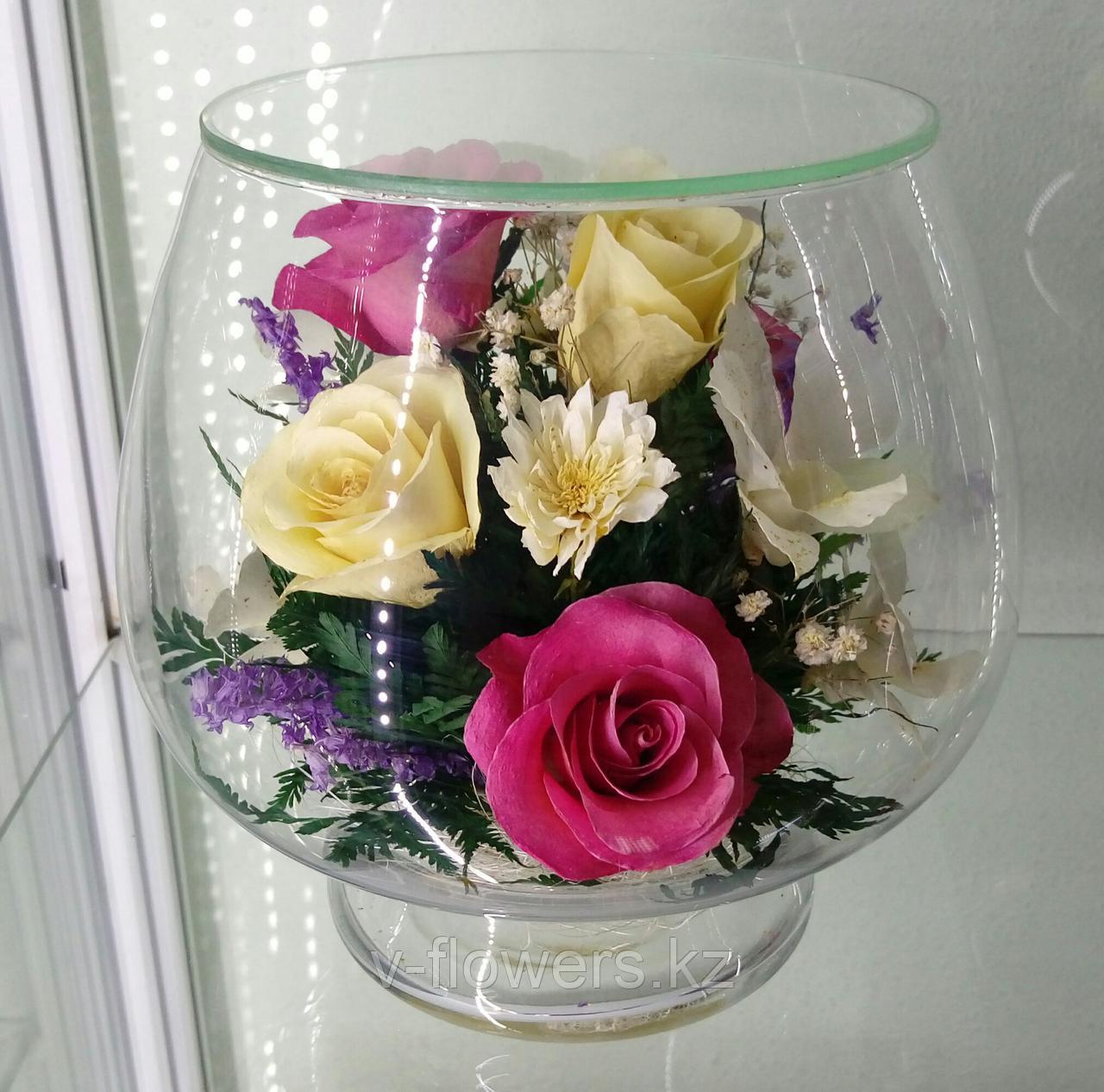 Вечные живые цветы LMM-05