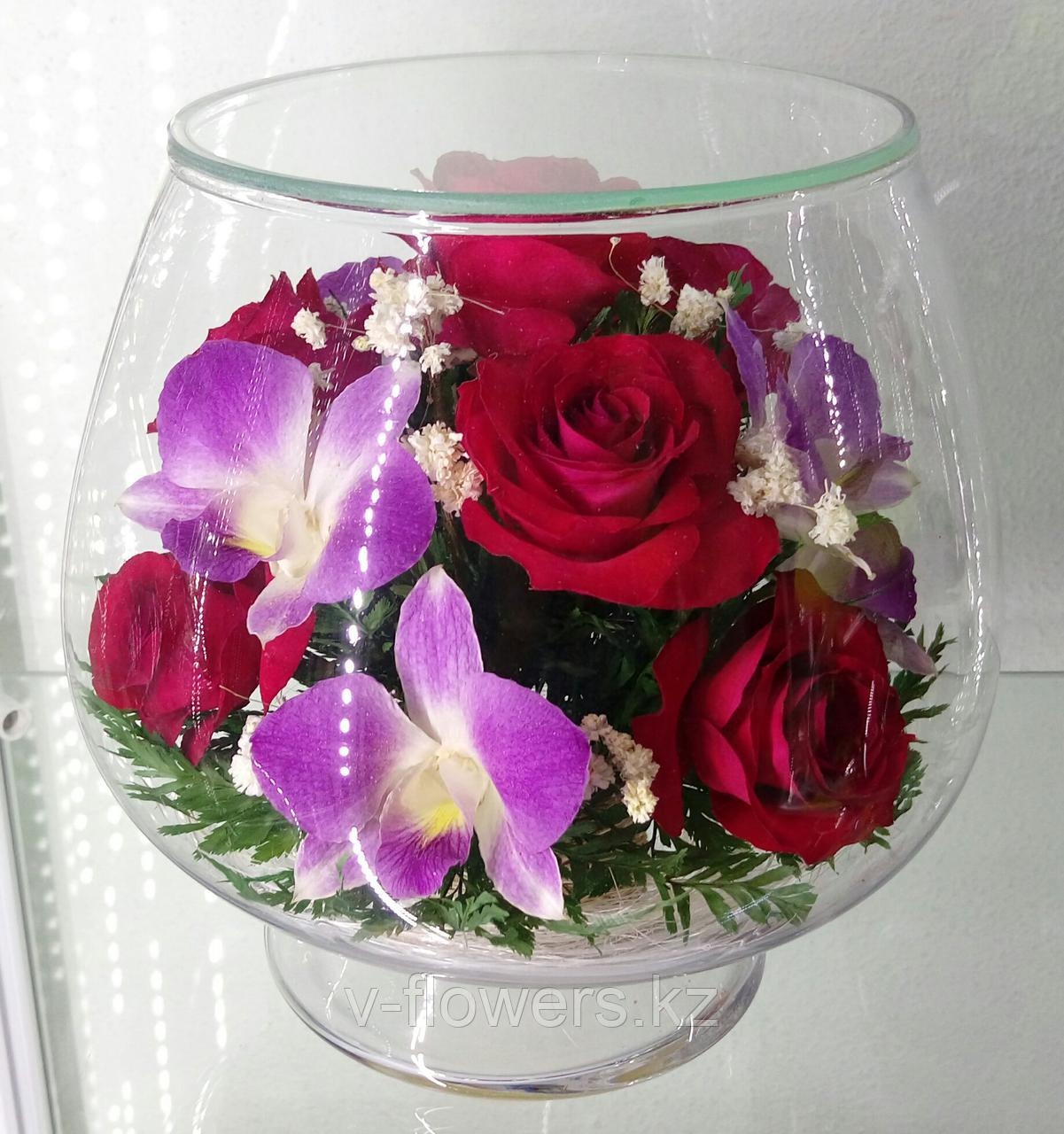 Вечные живые цветы LMM-04