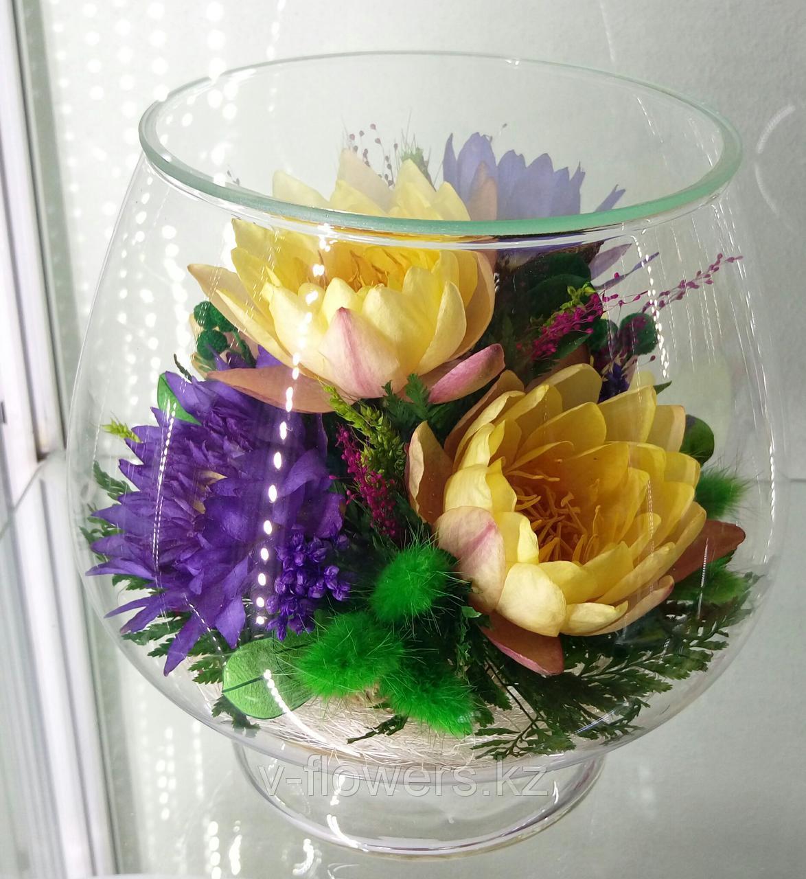 Вечные живые цветы LML
