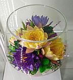 Вечные живые цветы LML, фото 4