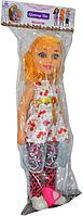 510 Кукла в лосинах и в юбке 17*52, фото 1