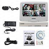 4-х канальный AHD видеорегистратор 960P 1аудио HDMI VGA с монитором , фото 2
